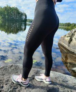 Korkeavyötäröiset muotoilevat leggingsit - TarjousTaivas