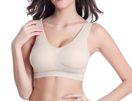 Saumattomat rintaliivit - beiget - TarjousTaivas