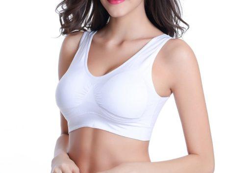 Saumattomat rintaliivit - valkoiset - TarjousTaivas